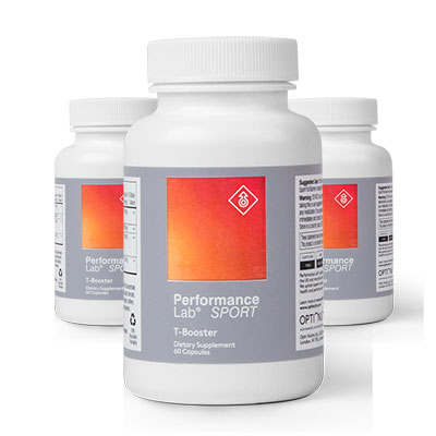 3 Bottles of Performance Lab SPORT T-Booster