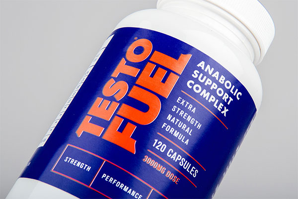 action shot of TestoFuel