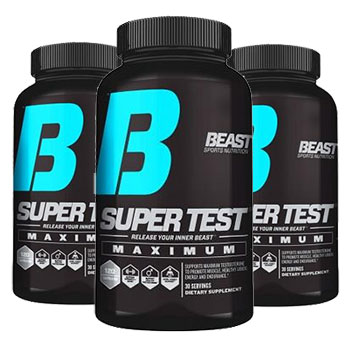 3 Bottles of BEAST Super Test Maximum