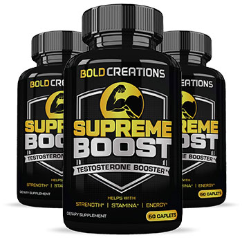 3 Bottles of Bold Creations Supreme Boost