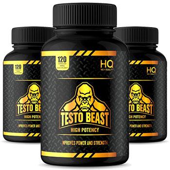 3 bottles of Testo Beast