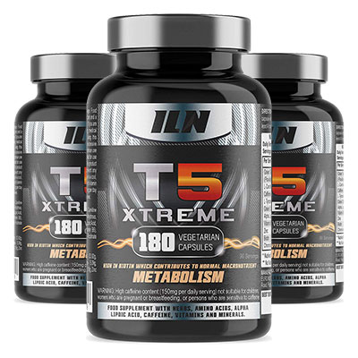 3 Bottles of T5 Xtreme Fat Burner