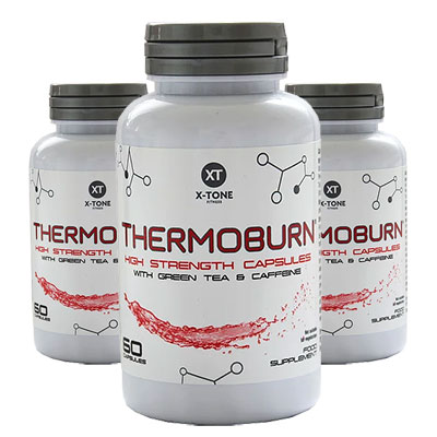3 Bottles of X-Tone Thermoburn