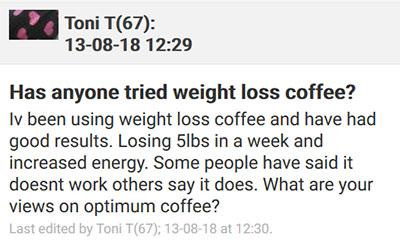 Skinny Coffee Netmums