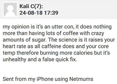 Skinny Coffee Reviews Netmums