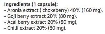 Slimberry Ingredients