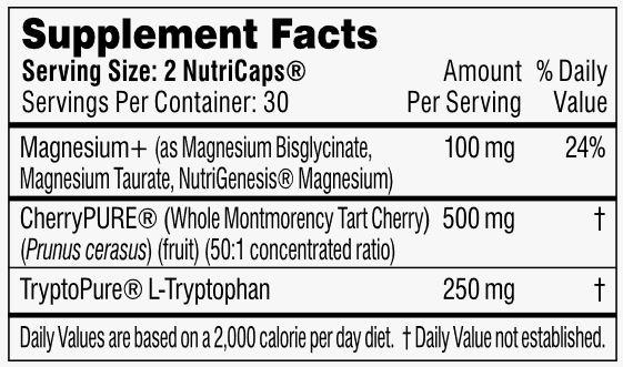 Performance Lab Sleep Ingredients